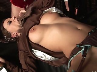 Looking Like A Horny Viking Nymphomaniac Gets Mouthfucked Indeed Hard
