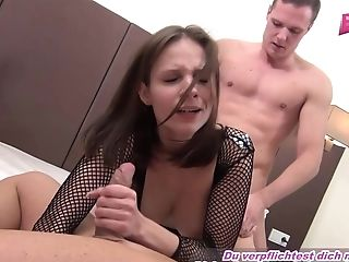 Bbw milf kirsten halborg shags and fucks british college stu tmb