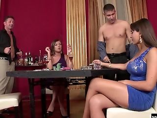 Valery Summer And Donna Bell Are Skanky Whores That Love Taking Dick Not
