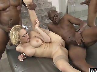 Kagney Linn Karter Interracial Group Sex