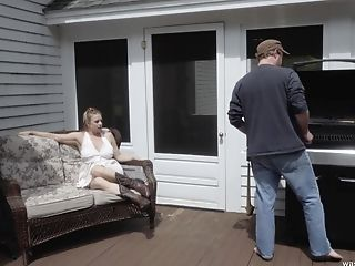 Raunchy Blonde Mummy Gets Spanked And Fucked Truly Hard By A Redneck