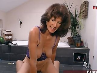 German Matures Cougar Seduced Junior Boy
