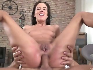 Ass Fucking Slot Of Yummy Honey Lexi Layo Is Punctured On A Powerful Dick