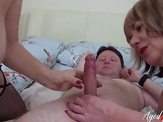Big-boobed Brit Matures Luving Gonzo Threesome Hook-up On Kinky Medical Center