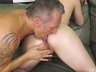 Tattooed Stud Spoke Casey Calvert Into Playing With His Dick