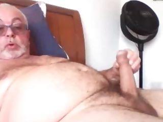 Grandfather Strok On Webcam