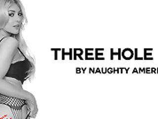 Three Crevasse Gal Featuring Kayla Kayden - Naughtyamericavr
