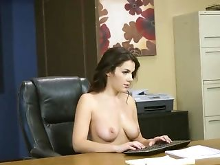 Feet Fetish Office Pornography Scenes With Naked Valentina Nappi