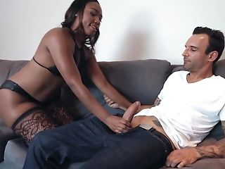 Dude Loves Perversion And Asks Chanell Heart For Fucking