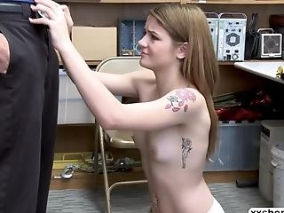 Shoplifter Rosalyn Sphinx Gets Her Cunt Rammed By Lp