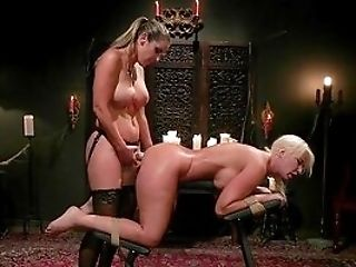 Ass Fucking Extreme During Fem Dom For London Sea And Kayla Paige
