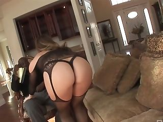 Posh Milky Chick Chanel Preston Takes A Big Black Dick In Her Twat