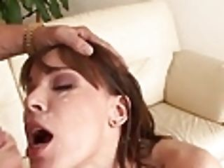 Dark-haired Dana Dearmond Arse Puss Eating Nd Spunk On Face
