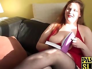 Lovely Bbw Whore Mea Malone Drains And Deep Throats Gigantic Dick