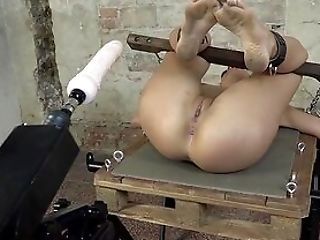 Sex Machine Total Sadism & Masochism For A Naked Fledgling Servant