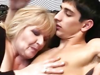 Sexy Bbw Granny Entices Youthful Man