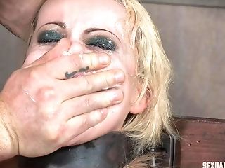 Blonde Matures Hoe Gasped While Force Fed Schlong Down Her Thirsty Facehole