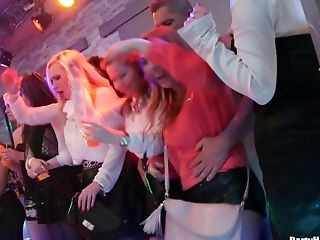 Breezies Go Wild On The Dance Floor And Gets Their Crevices Slammed
