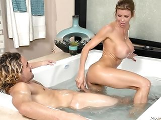 Faux-titted Alexis Fawx Gets Leaned Over And Fucked Tirelessly