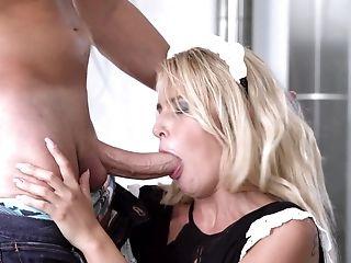 Maid Aisha Angel Loves Sucking And Railing A Big Dick