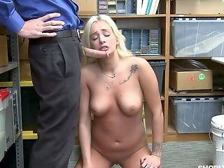Not To Pay A Fine Lusty Bootyful Czech Blondie Daisy Lee Rails Cop's Prick