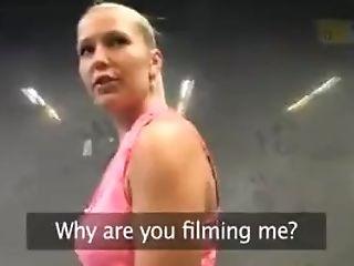 Hot Blonde Fucked In Public