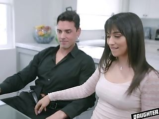 Hard-core Office Orgy With Brooklyn Gray And Cleo Clementine Eating Jizz