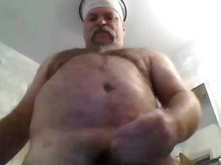 Grand-pa Jizm On Web Cam