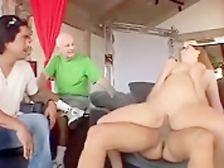 Horny Housewife Turns Into Swapper