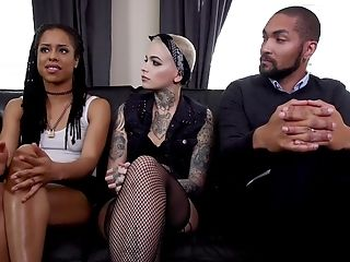 Severe Male Domination In Group Scenes With Kira Noir And Leigh Raven