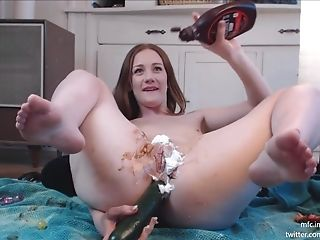 Ginger Spyce - Chocolate Fruit And Cucumber Anal Intercourse