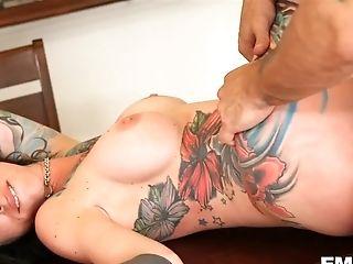 Tattooed Dreadlock Biotch