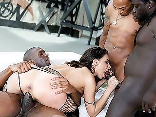 Henessy's Big Black Rod Group Sex