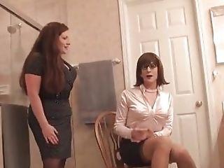 Wifey Ohphelia Catches Sandra Dressing!