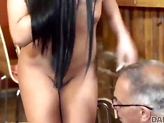 Daddy4k. Mentor Invites Sonnie And His Gf To The Bar And Fucks