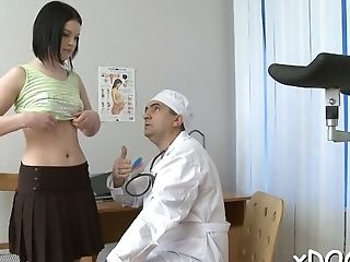 Slender Cutie Rita Thirsts For Meat Member And Gets It