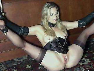 Rough anal huge toys hot call girl bondage