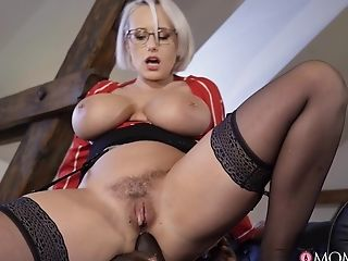 Black Dude With A Lengthy Dick Makes Faux Tits Angel Wicky Shriek