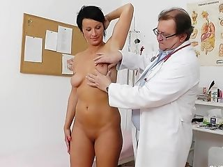 Radana Old Cunt Examination