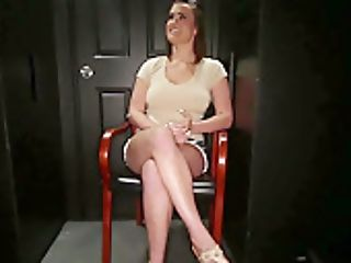 English Beauty Gagging On Spears In The Gloryhole