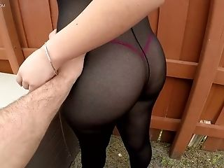 Bootyful Honey In Ripped Bodysuit Serena Skye Gets Her Slot Fucked Hard
