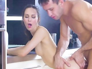 Sexual Display On Top Of Her Guy's Dick