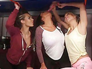 Brit Ladies Have Some Cfnm Joy