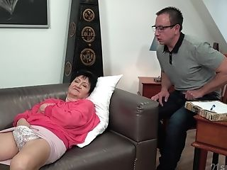 Matures Brief Haired Granny Anastasia Seduced And Fucked Xxx
