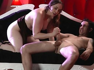After A Oral Job Chanel Preston Got Her Moist Cunt Fucked By A Dude