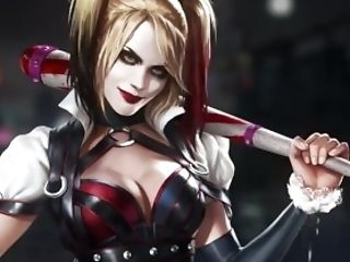 Harley Quinn's Visible Heartbeat