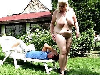Fat Czech Mistress Monika Blondie