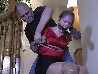 First-timer Sexy Mummy Hot Restrain Bondage Porno Vid