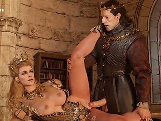 The Witcher: Nilfgaard Emperor (emhyr, Yennefer, Fringilla, Anna Henrietta)