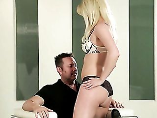 Hot As Fire Blonde Hoe Beverly Lynne Entices Her Fellow